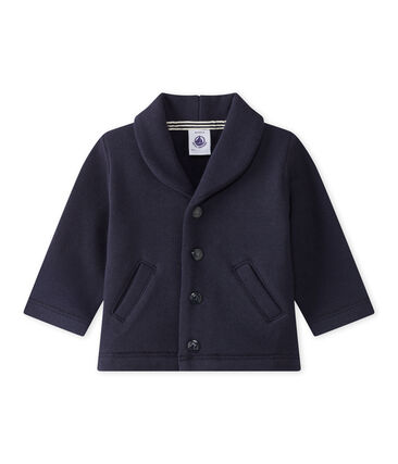 Baby Boys' Fleece Jacket Smoking blue