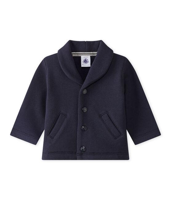Baby Boys' Fleece Jacket Smoking blue