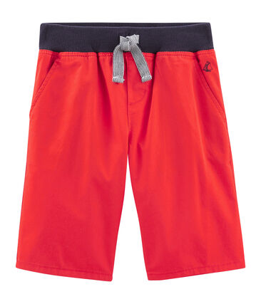 Boys' Bermuda Shorts Terkuit red