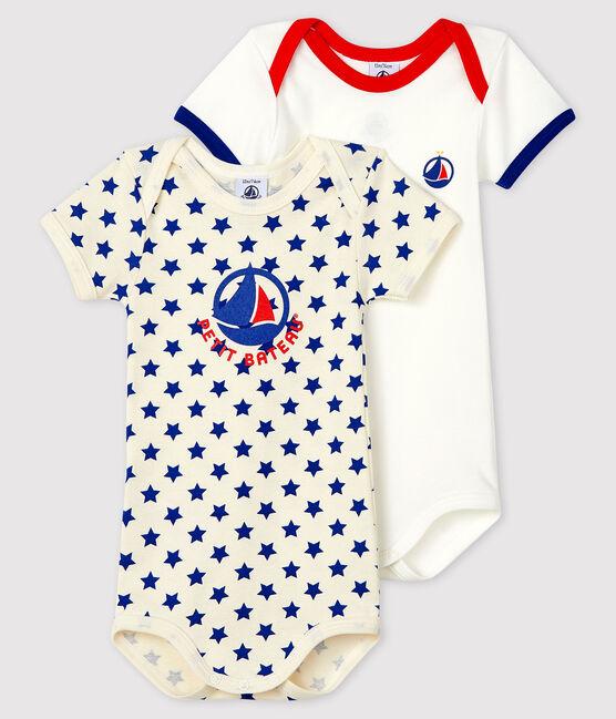 Babies' Made in France Short-Sleeved Bodysuit - 2-Piece Set . set