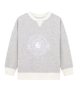 Boy's Sweatshirt Beluga grey