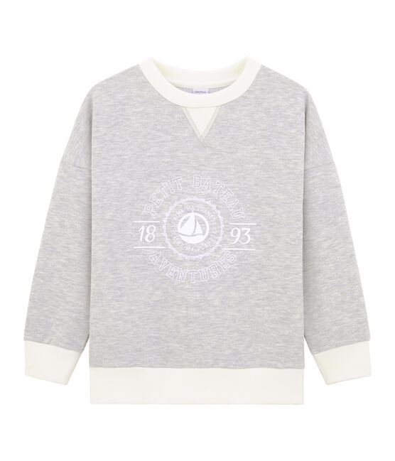 Boy's Sweatshirt Beluga grey