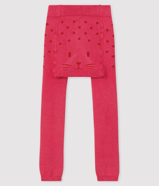 Baby girl's footless tights POPPY