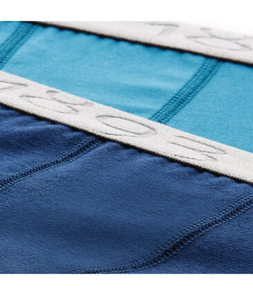 Set of 2 boy's Lycra jersey boxers - Previous collection