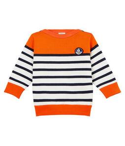 Baby boys' colourblock breton striped Sweatshirt