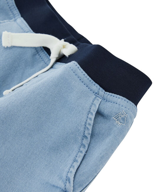 Boys' Bermuda Shorts Denim Bleu blue