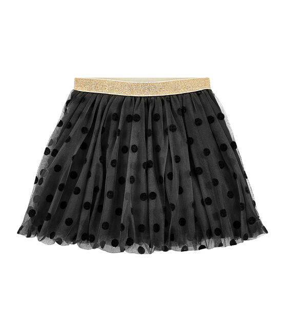 Girls' Tulle Skirt Capecod grey