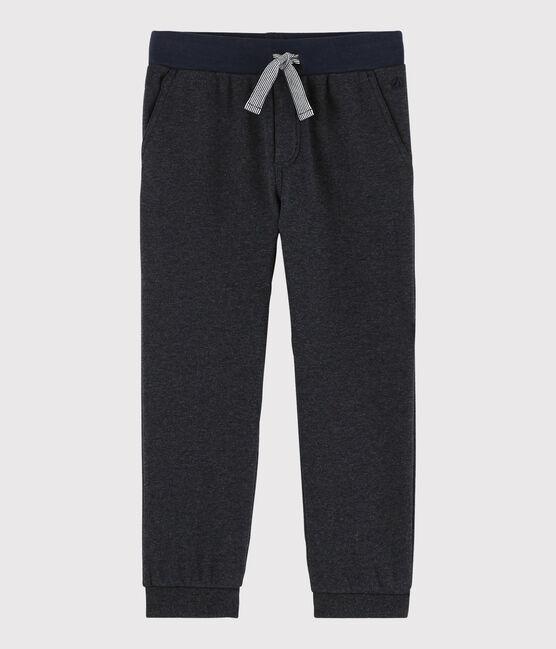 Boys' Fleece Trousers City Chine grey