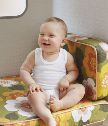 Unisex Baby's Sleeveless Bodysuit - 2-Piece Set . set
