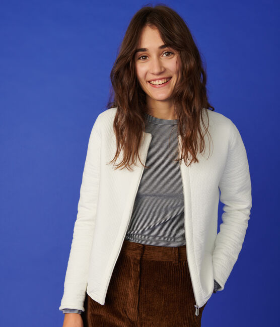 Women's cardigan jacket Marshmallow white