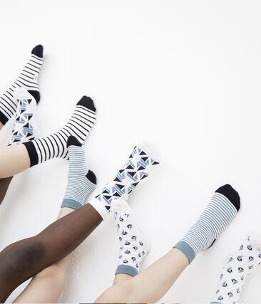 Pack of 5 Weekday Pairs of Boys' Socks