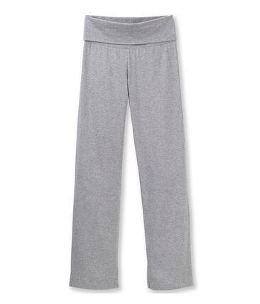 Women's plain Lycra jersey dance pants