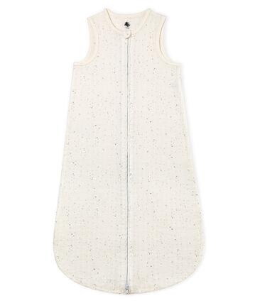 Unisex baby light sleeping bag Marshmallow white / Multico white