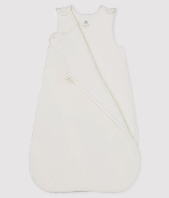 Babies' Velour Sleeping Bag Marshmallow white
