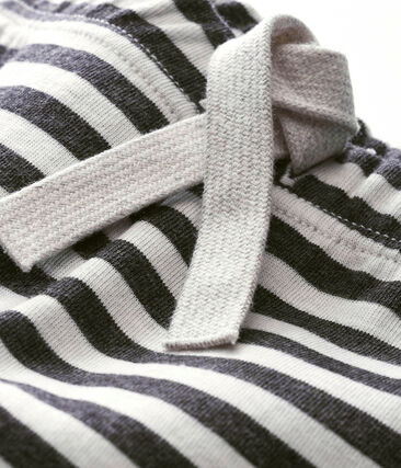 Baby boy's striped trousers