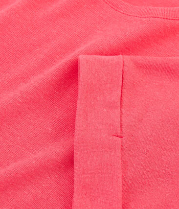 Girls' Short-sleeved T-shirt Groseiller pink