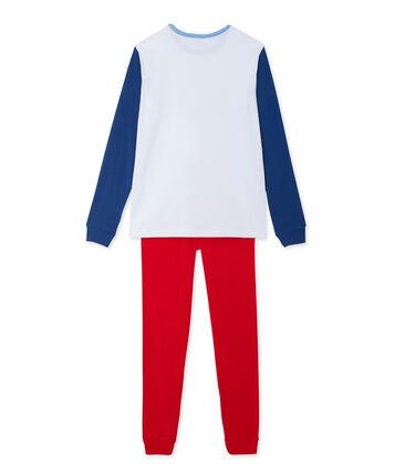 Teenage boy's placement print pyjamas
