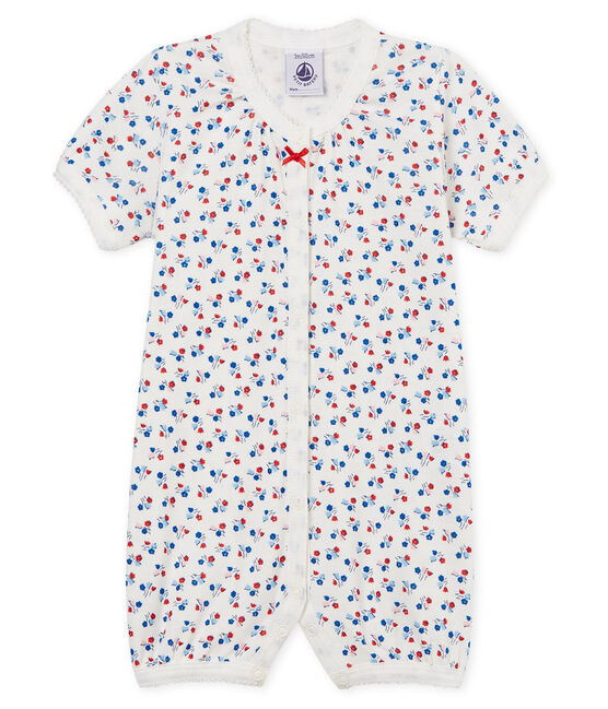 Baby Girls' Shortie Marshmallow white / Multico white