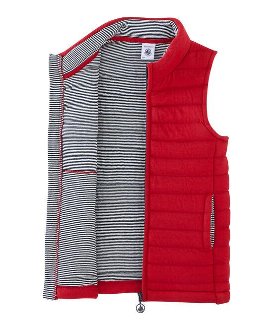 Unisex Children's Sleeveless Jacket Terkuit red