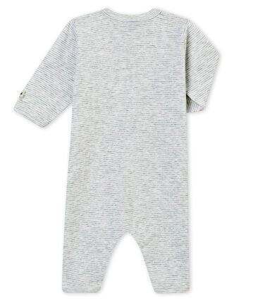 Baby boy's footless sleepsuit