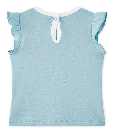 Baby girl's T-shirt Mimi blue