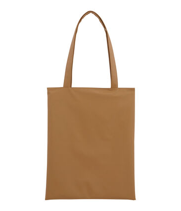 plain shopping bag Brindille brown