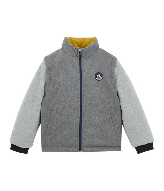Boy's jacket Inca yellow / Multico white