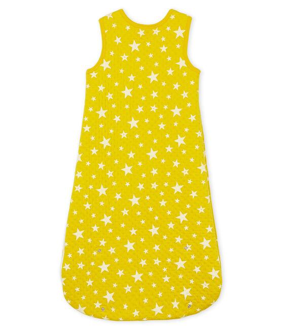 Compact Boys' Tube Knit Sleeping Bag Honey yellow / Marshmallow white