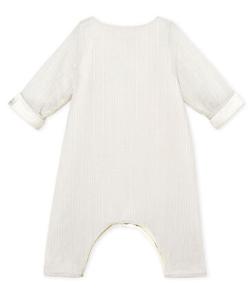 Baby boys' striped long jumpsuit