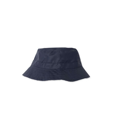 Children's sun hat in coated canvas