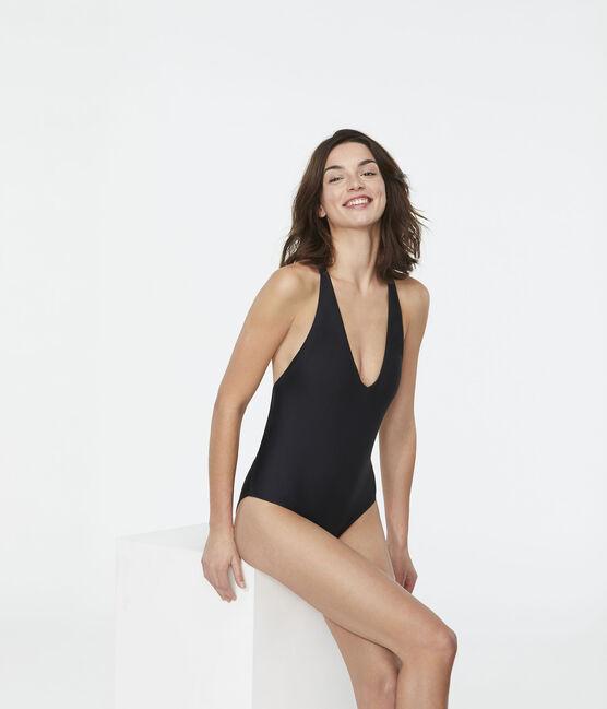 Women's Eco-Friendly Swimsuit Noir black