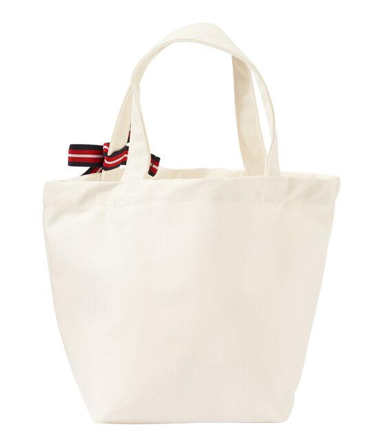 Girl's canvas bag Marshmallow white