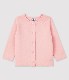 Baby girl's long-sleeved cardigan MINOIS