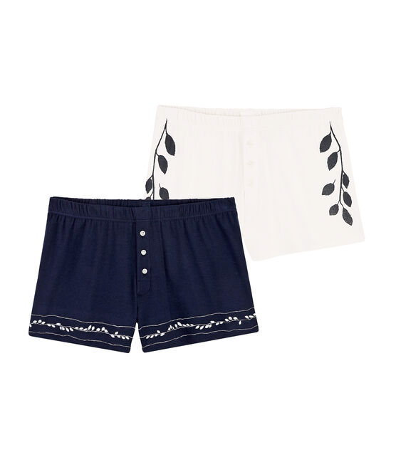 Women's/Men's boxer briefs Christoph Rumpf x Petit Bateau (Set of 2) . set