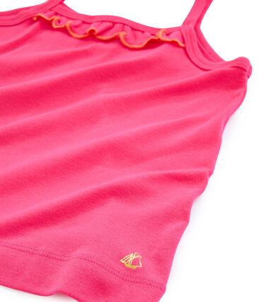Girls' Vest Geisha red
