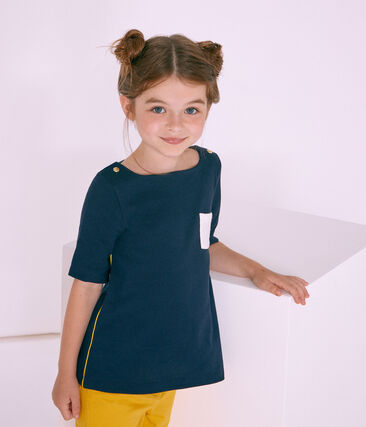 Girls' 3/4 Sleeves T-shirt