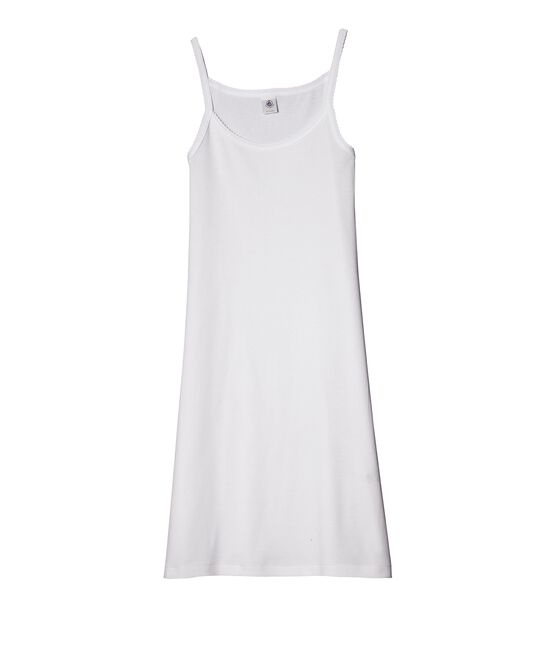 Women's Strappy Dress Ecume white