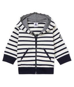 Baby boys' breton striped hooded Sweatshirt