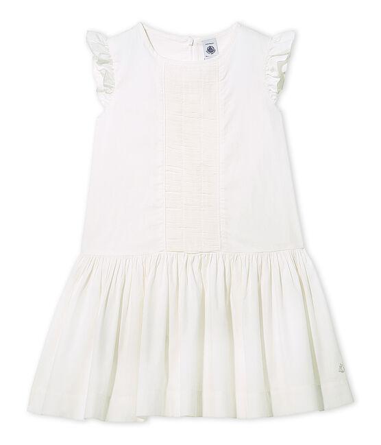 Robe de cérémonie fille Lait white