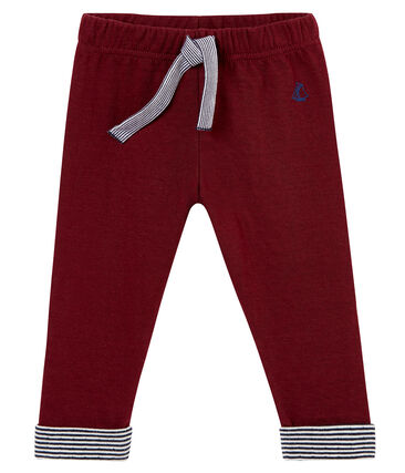 Baby boys' cotton tubic trousers