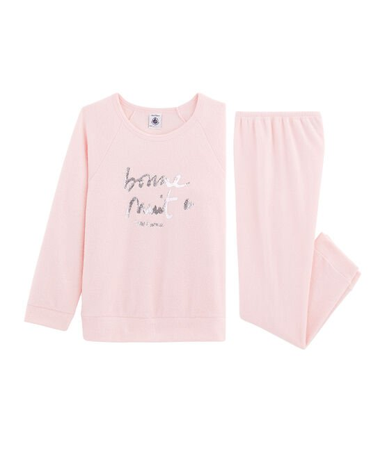 Girls' Pyjamas in Extra Warm Brushed Terry Towelling MINOIS