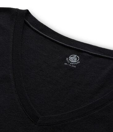 Women's short-sleeved v-neck iconic t-shirt