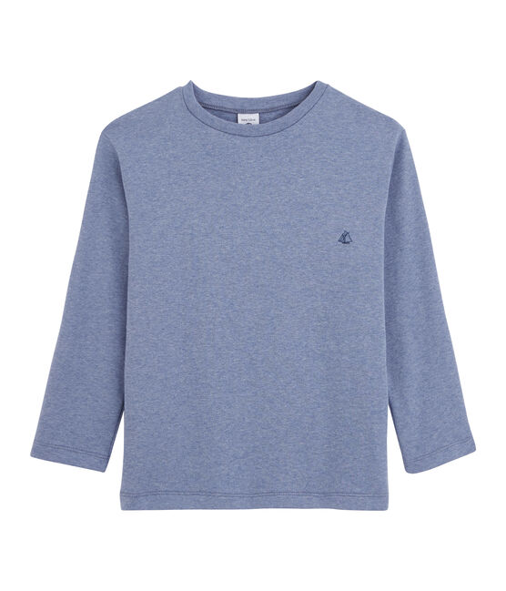 Boys' Long-Sleeved T-shirt Captain Chine blue