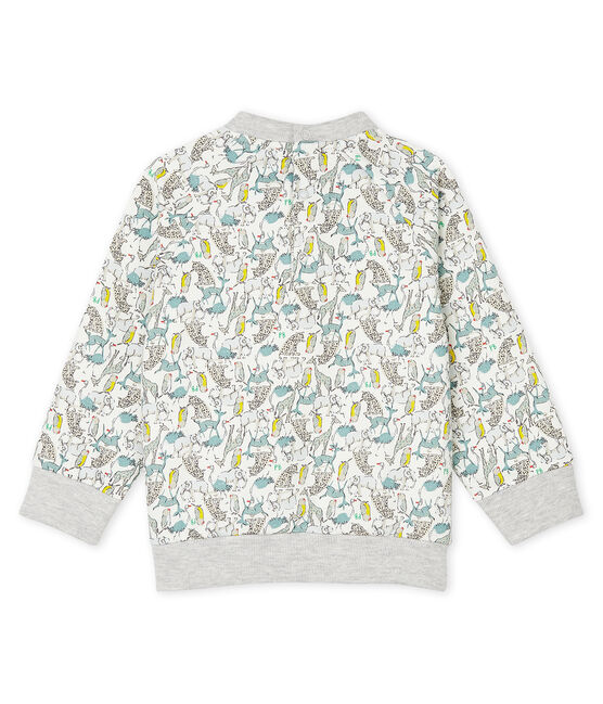Baby Boys' Fleece Sweatshirt Marshmallow white / Multico white
