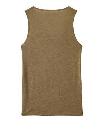 Women's iridescent linen top