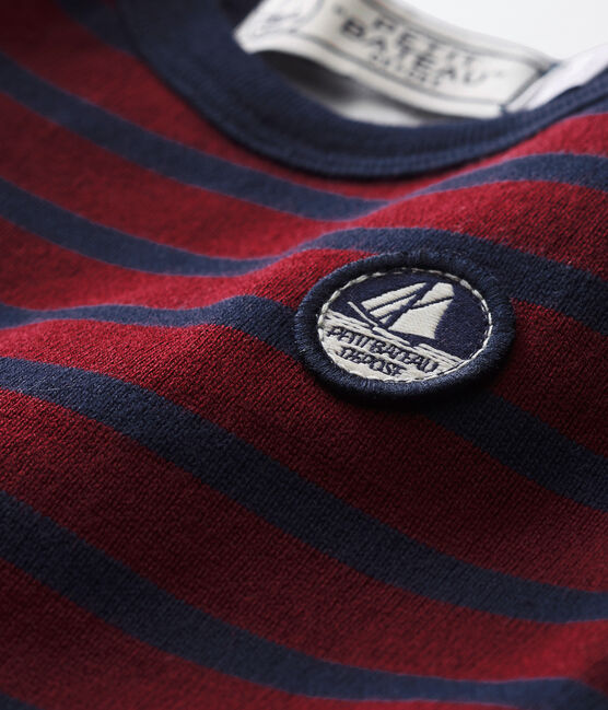 Baby boy's iconic sailor body Ogre red / Smoking blue