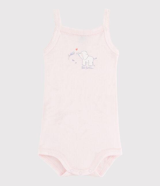 Baby Girls' Strappy Bodysuit Vienne pink