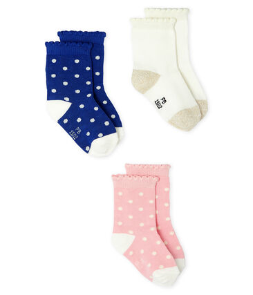 Baby Girls' Socks - 3-Piece Set . set