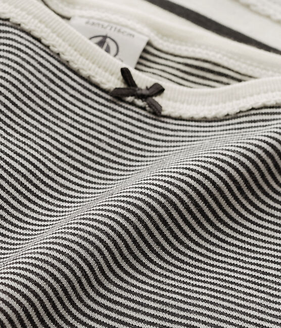Girls' Striped Strap Vests - 2-Piece Set . set