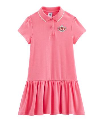 Girls' Dress Cupcake pink